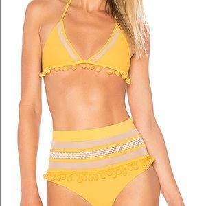 Tularosa Yellow Pom Pom Bikini